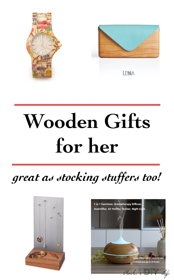 Check out all the other Wooden gifts for women - perfect for any occasion - birthday anniversary or even Christmas. Great 5th anniversary gift
