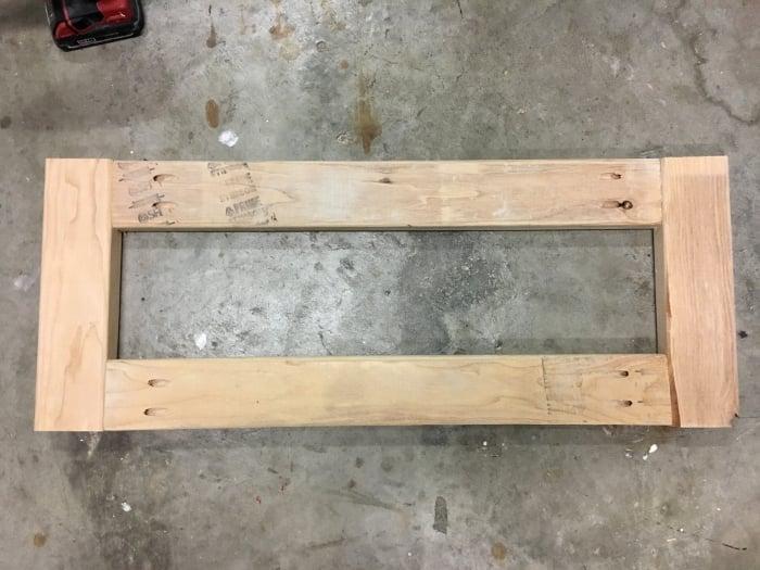 Such an easy DIY X-bench