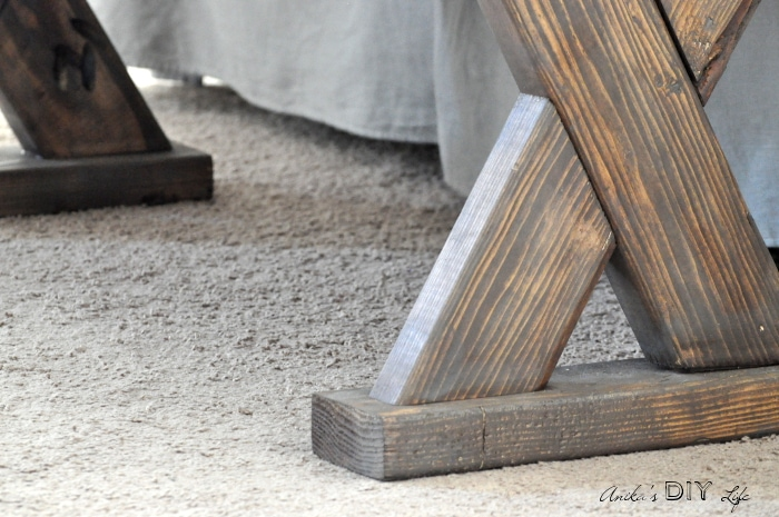 So easy to get a custom stain finish!