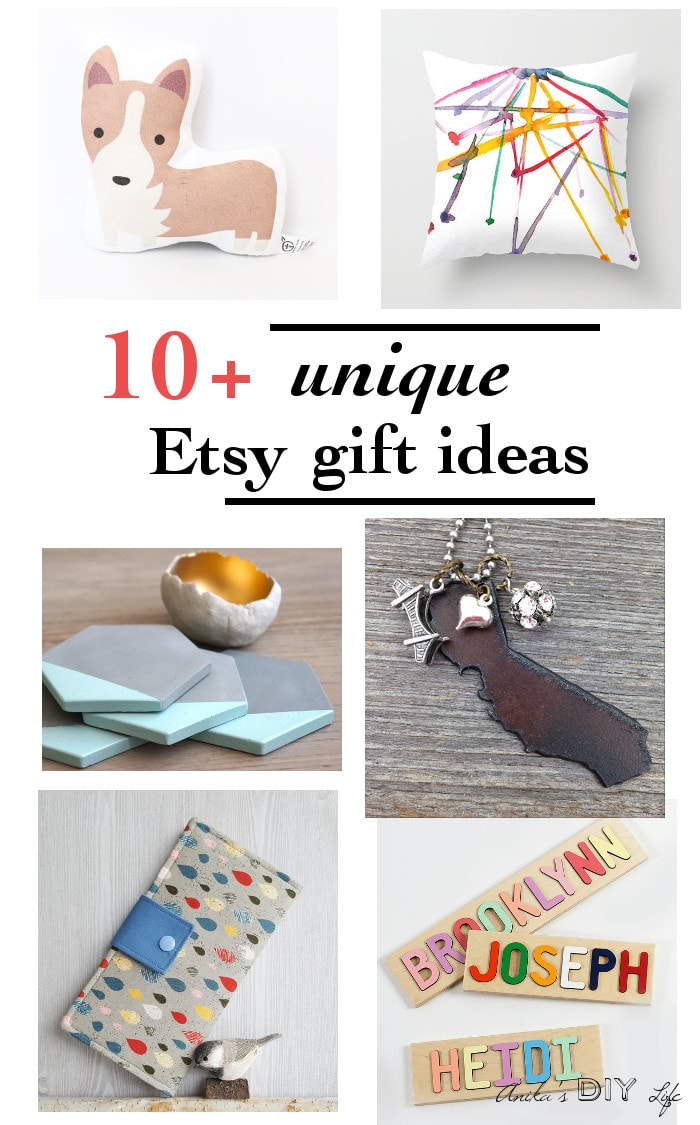 You have got to save this list of unique and amazing gift ideas from Etsy! New products are added to this list all the time!