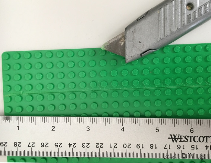 How to cut a lego base plate? Check out this easy and quick way!