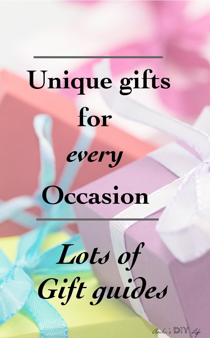 Such a great resource! This page is full of unique gifts for every occasion and everyone!