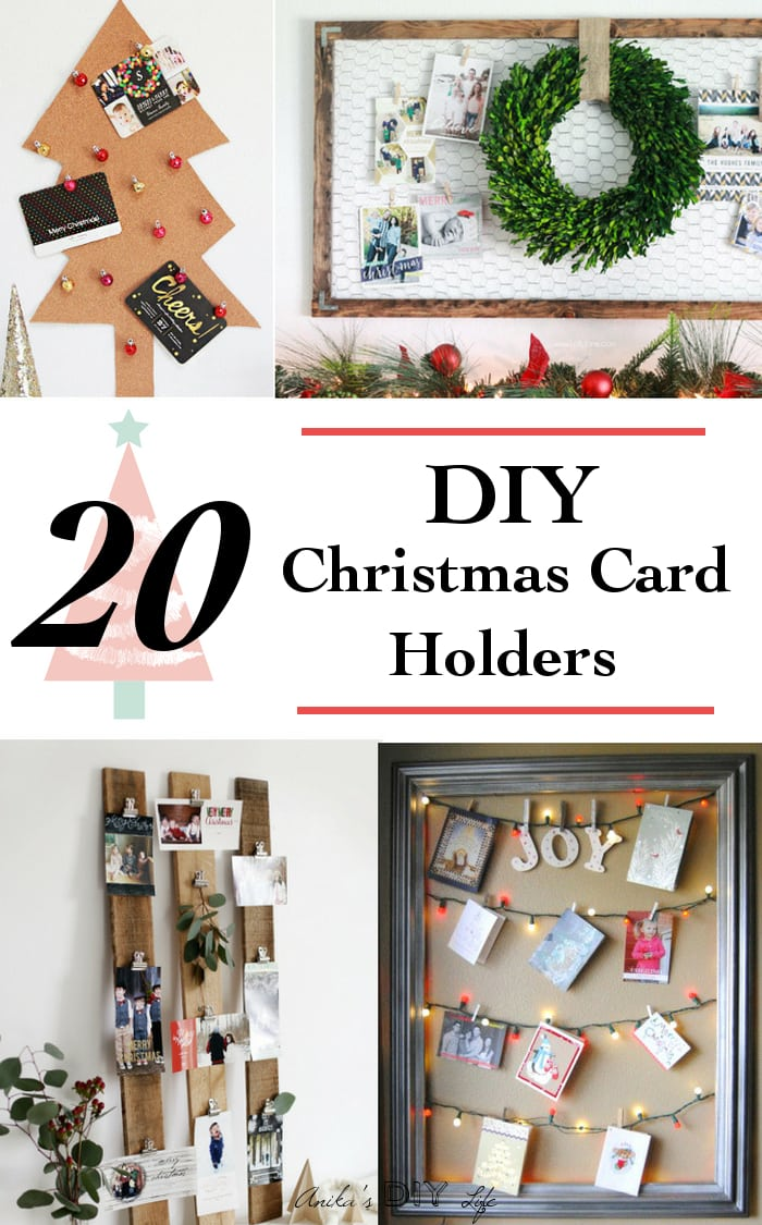 Subscribe Button Pin It These Christmas Card Holder Ideas Are So Genius And Pretty The First One Is My