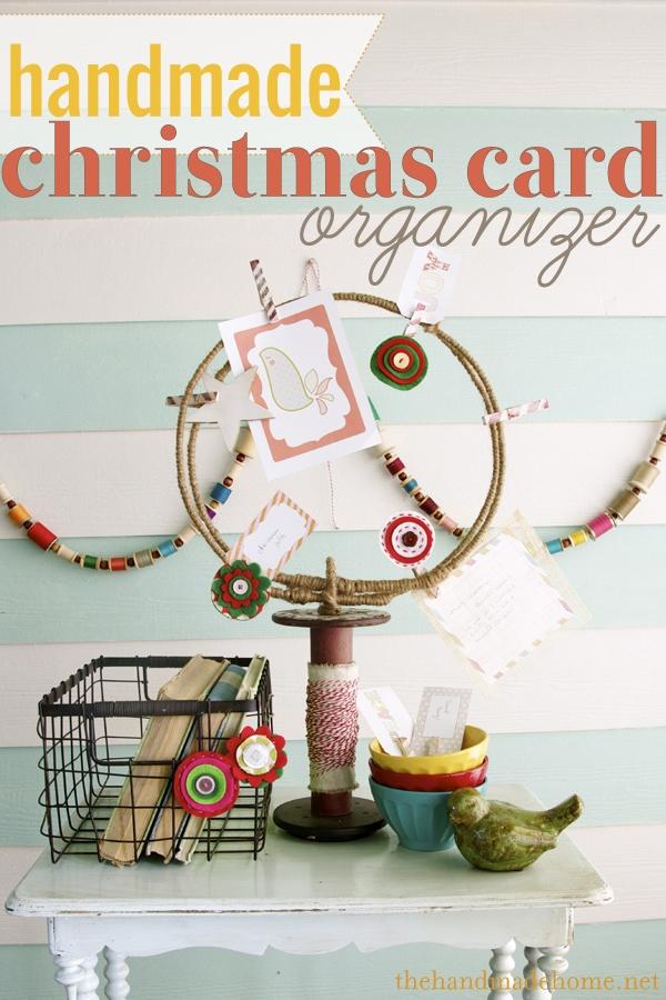 Christmas card holder ideas | holiday card displays ideas