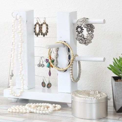 DIY Jewelry Holder – How To Build A Simple Organizer