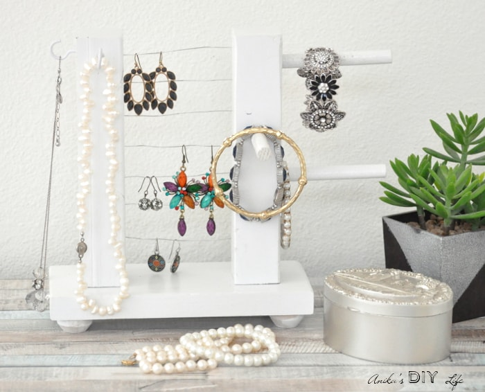 Diy Jewelry Holder How To Build A Simple Organizer Anika S Diy Life