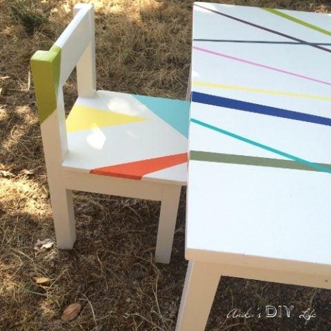 DIY Kids Table and Chair Set