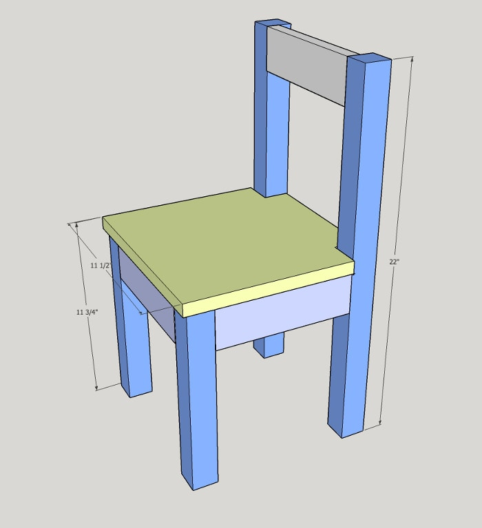 build an easy diy kids table and chair set this simple tutorial can be completed