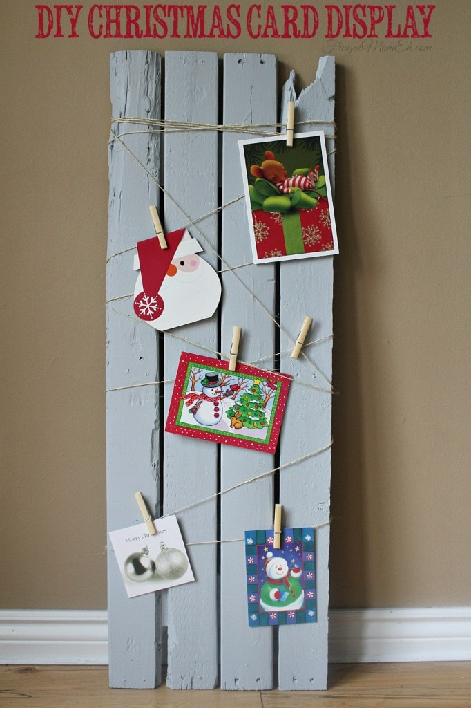 20 DIY Christmas Card Holder Ideas - Anika\'s DIY Life