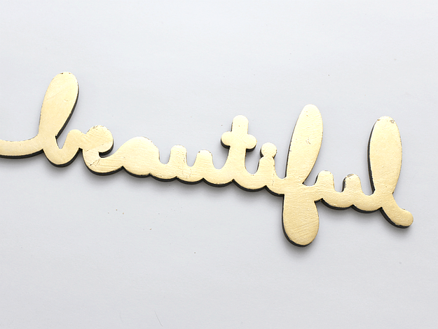 You have got to see all the ideas on this page for DIY gold home decor like this easy you are beautiful sign