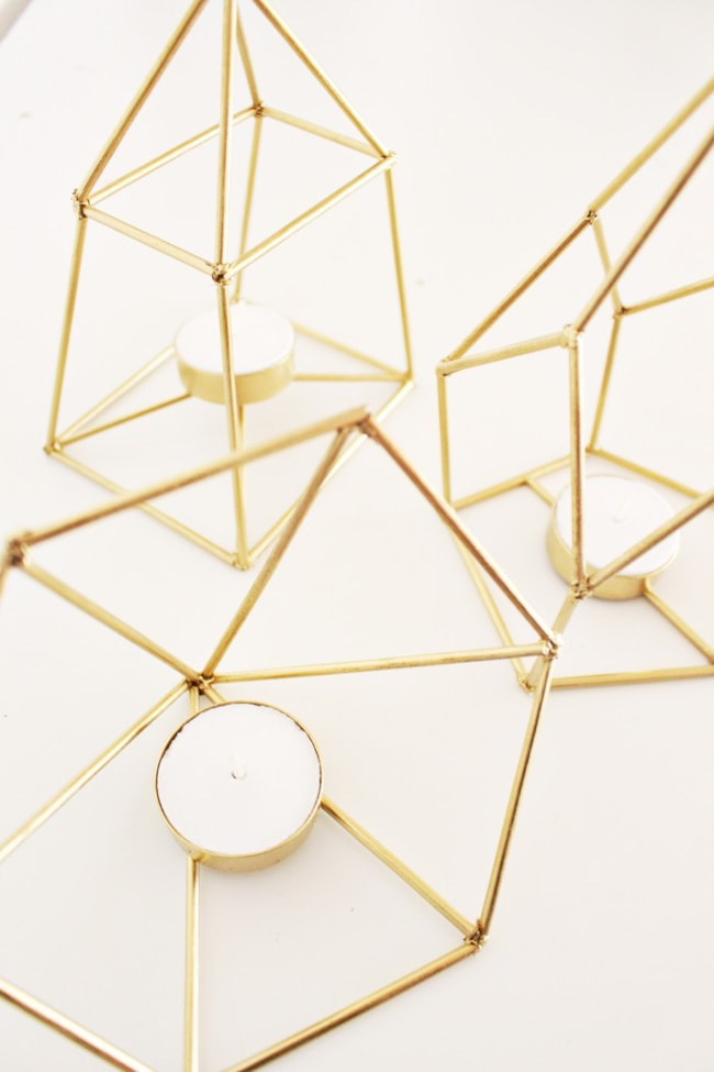 You Have Got To Check Out All The DIY Gold Decor Ideas On This Page!