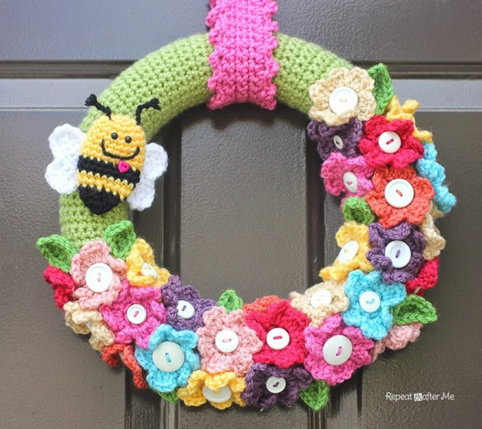 Spring Wreath Ideas Part - 41: ... 20 Gorgeous Spring Wreath Ideas And Door Decor! You Must See #4!