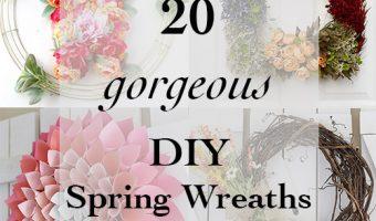 20 Amazing DIY Spring wreath Ideas