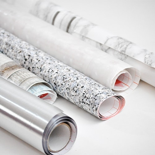 Decorating with all types of contact paper | marble, granite, stainless steel, wood, translucent