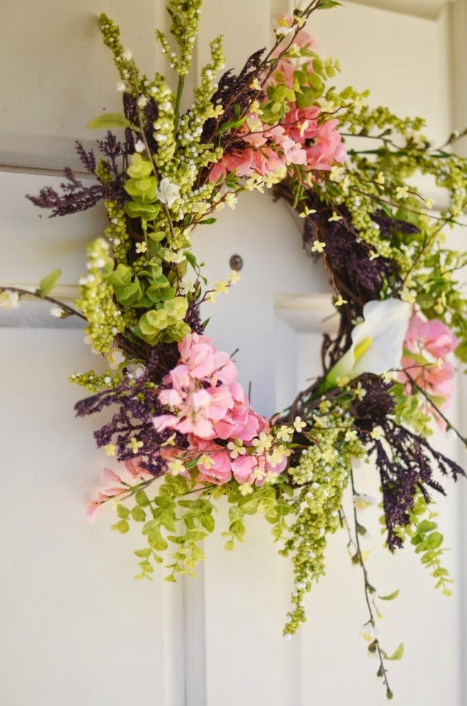 20 Amazing Gorgeous DIY Spring wreaths! #4 is a must see!