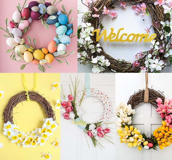 30 DIY Spring Wreath Ideas