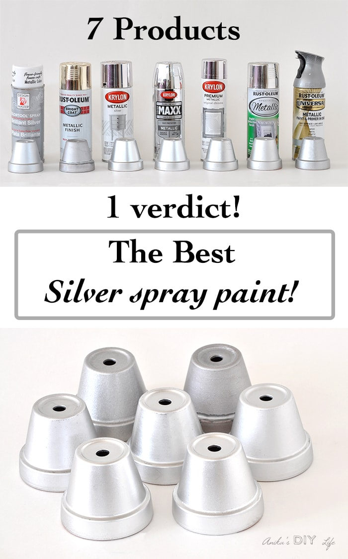 She Tested 7 Silver Spray Paints To Find The Best