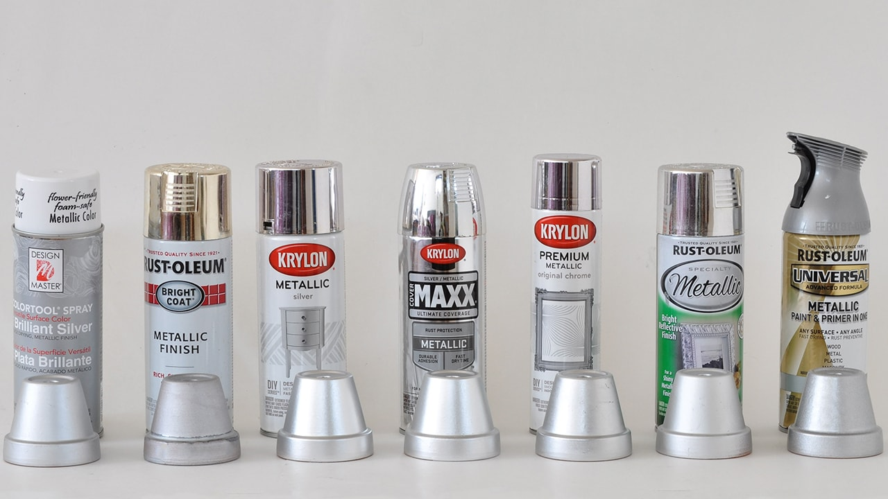 best silver spray paint review she tested 7 silver spray paints to find the best
