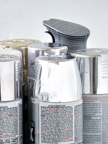 Frustrated with trying to find the best silver spray paint? Here is a comparison of 7 products to help you pick your favorite metallic silver spray paint!