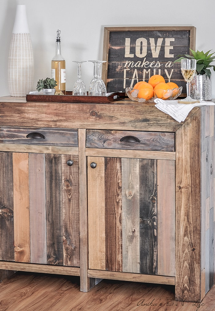 Step By Step Tutorial On How To Build A West Elm Inspired Emerson Buffet/  Sideboard