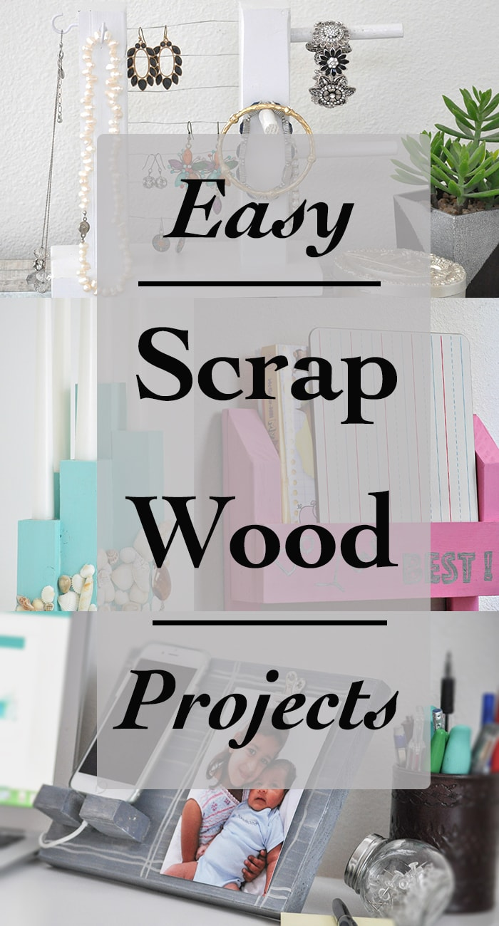 Simple Scrap Wood Projects for Beginners - Anika's DIY Life