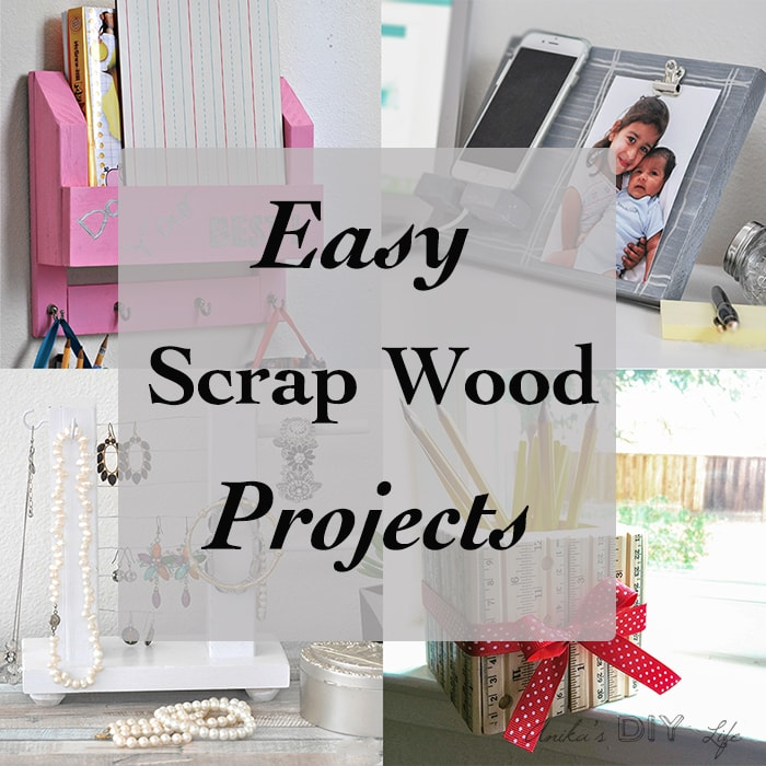 Simple scrap wood projects for beginners anika 39 s diy life - Scrap wood decorated house ...