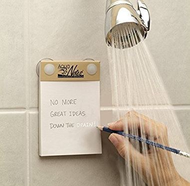 Aqua notes- waterproof writing pad - great gift for creative minds