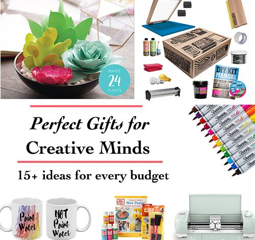 20+ Absolutely Perfect Gift Ideas for Creative Minds