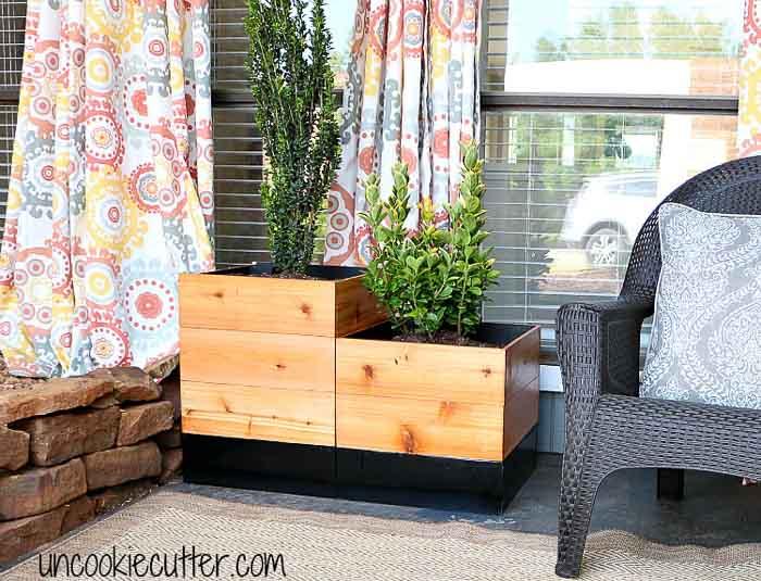 15+ ideas for DIY Planter boxes