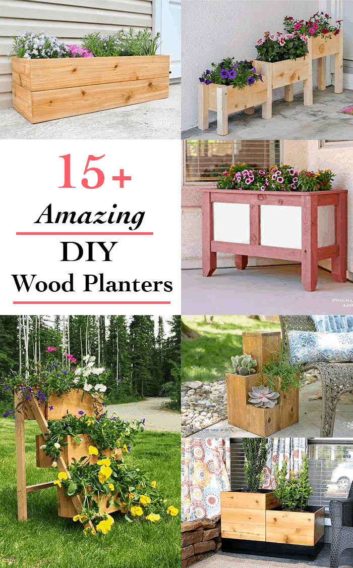 15+ Amazing DIY wooden planter box ideas and designs - Anika\u0027s DIY ...