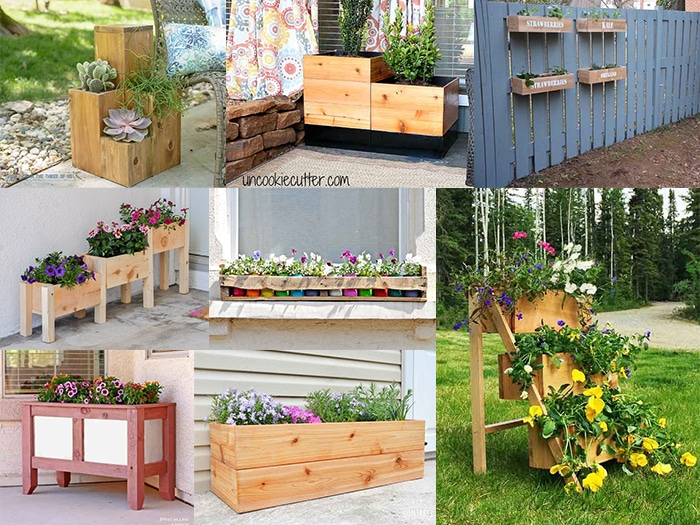 20 Easy And Amazing Diy Wooden Planter Box Ideas
