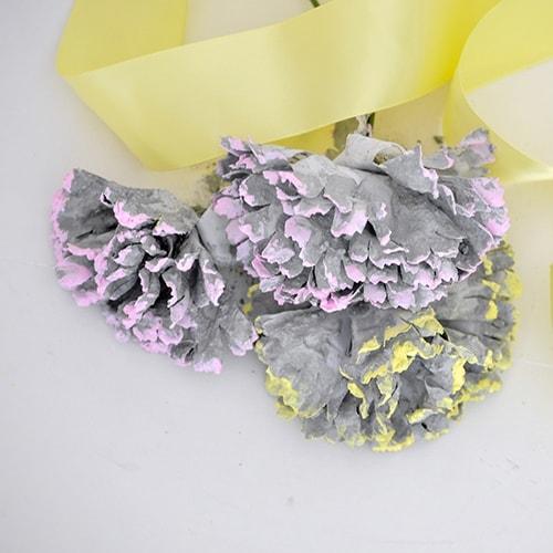 DIY Concrete Flowers : Easy 2-minute Project