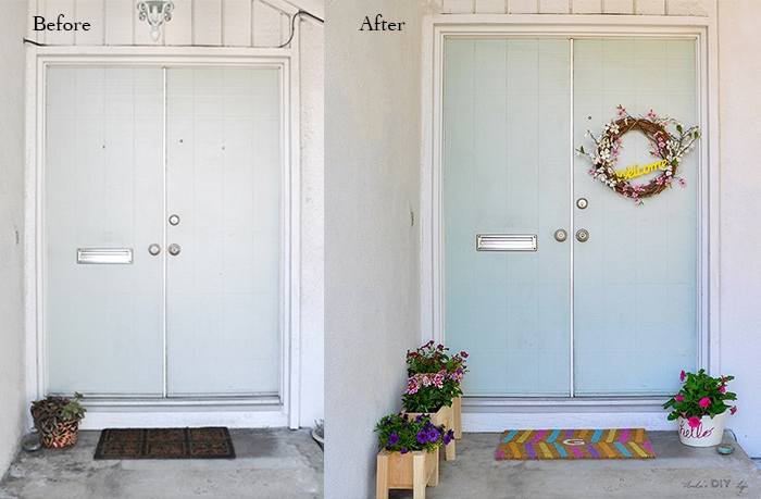 Spruce up your front porch for spring with lots of color in 5 quick steps