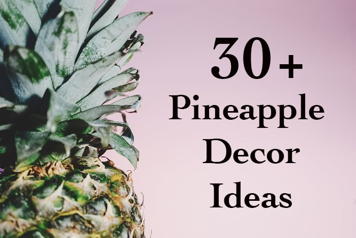 These Pineapple decor ideas are so amazing!! And Affordable!