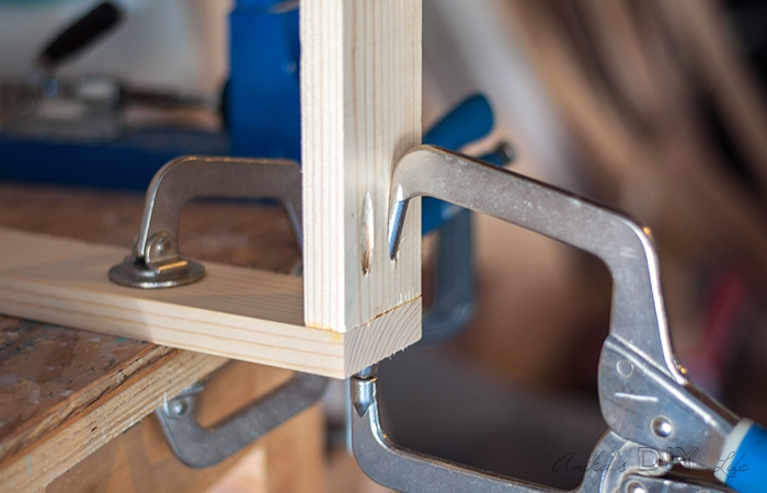 How to use a Kreg right angle clamp