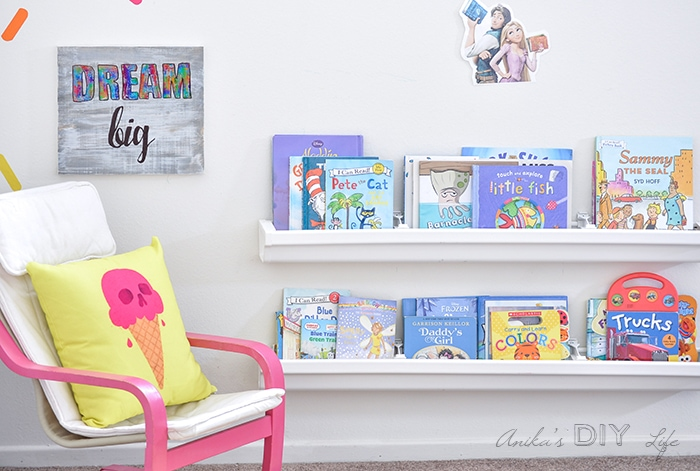 colorful kids room decor using deco foil and adhesive