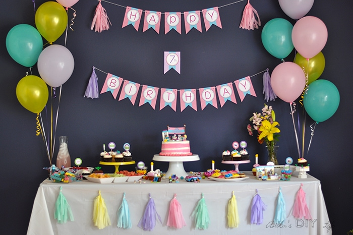 Lego Firends Themed Birthday Party Ideas