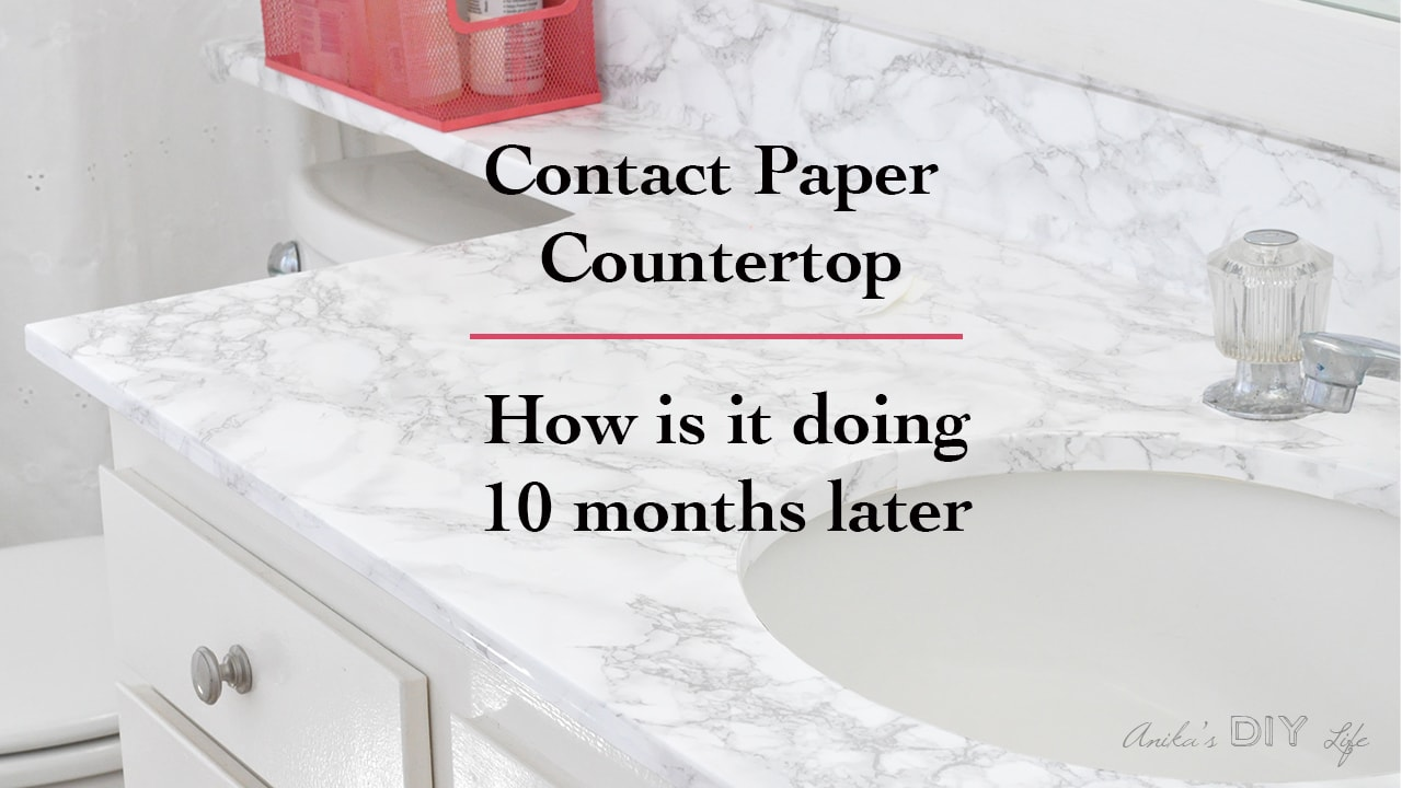 Marble Contact Paper Countertop 10