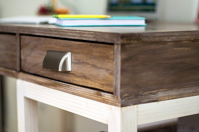 Inspiration for modern farmhouse desk and drawers