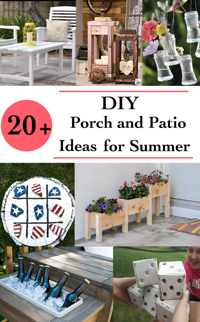 Diy Patio Decorating Ideas diy porch and patio decorating ideas for a fun summer - anika's