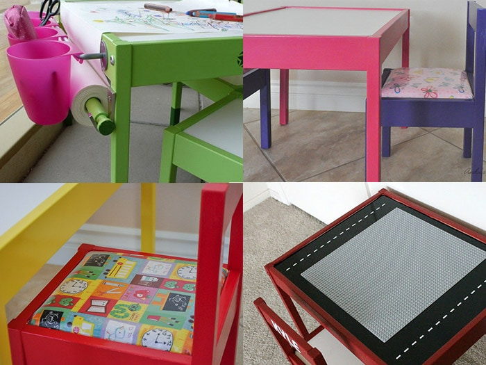 Table And Chair Ideas These Are Some Awesome Ikea Latt Makeover