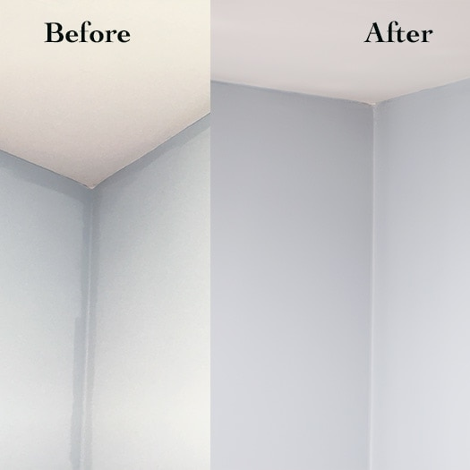Uneven Wall Paint Color and How to Fix it