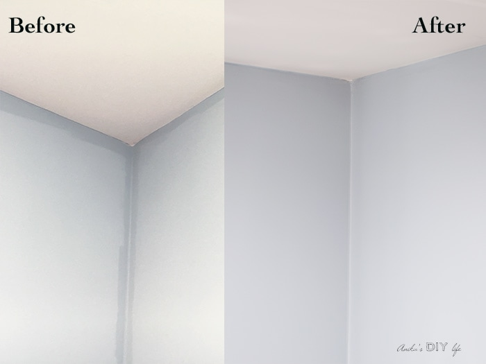 uneven wall paint color and how to fix it anika s diy life