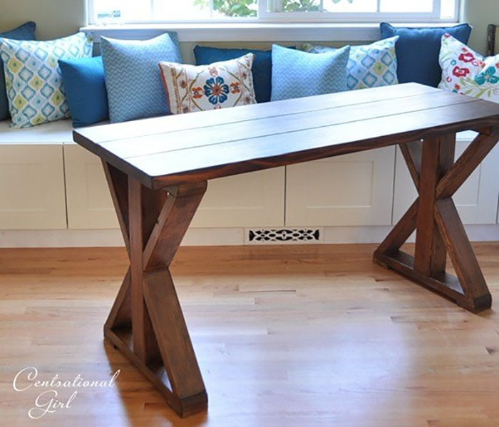 X-leg coffee table | you will love all the other X-leg furniture ideas