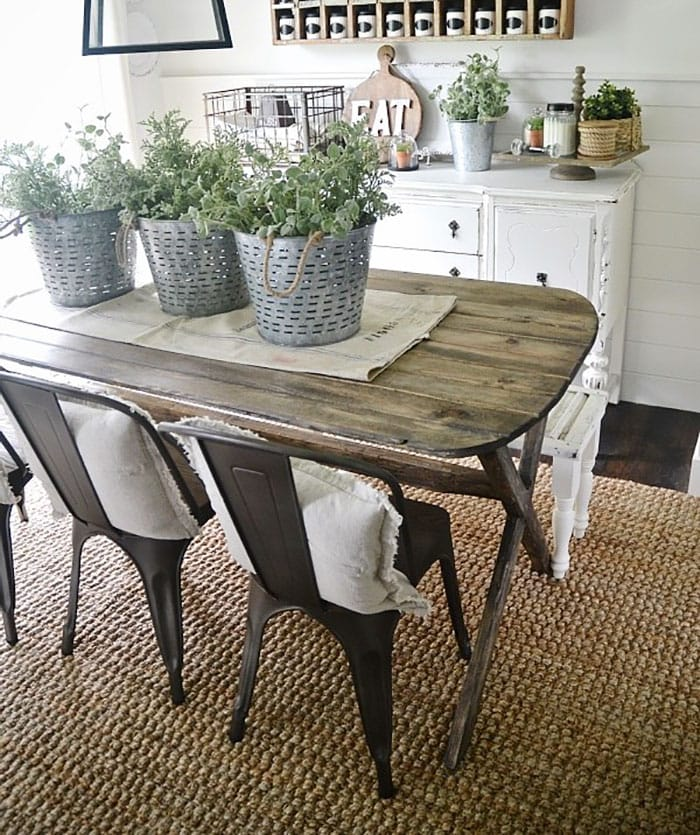 DIY X-leg dining table plans | many more X-leg ideas