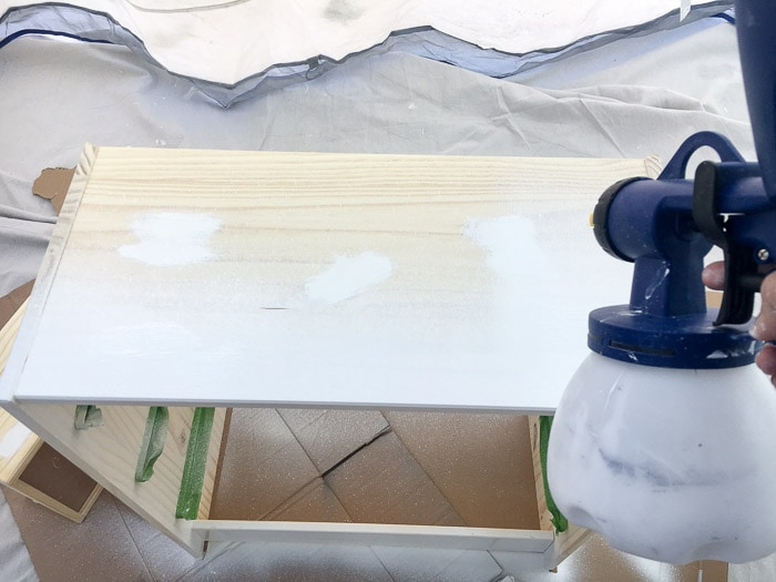 How to Paint Unfinished Pine Furniture - Anika's DIY Life