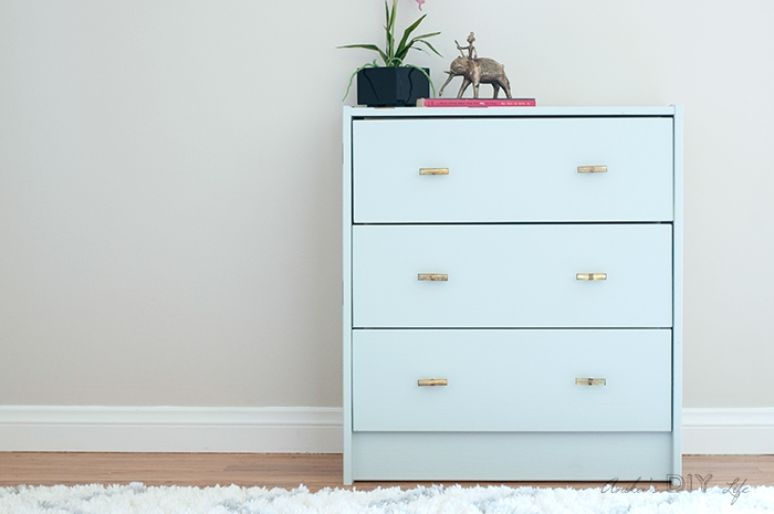 this ikea rast makeover is the easiest and quickest one you will find paint it and add a touch of glamor in a few easy steps - Ikea Rast