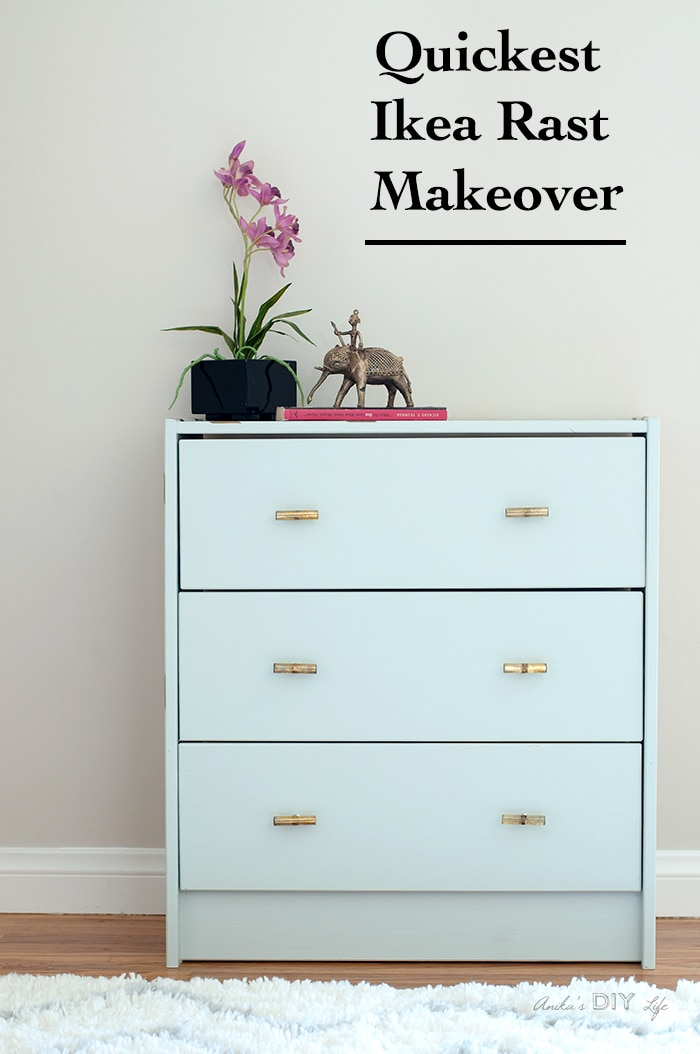 you wont believe how easy and fast this ikea rast makeover is - Ikea Rast