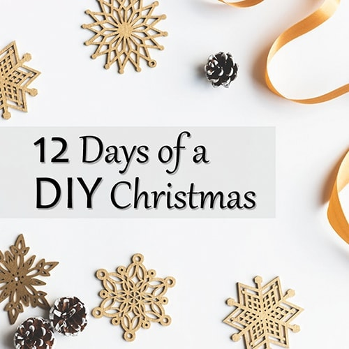 12 Days of a DIY Christmas – The Countdown
