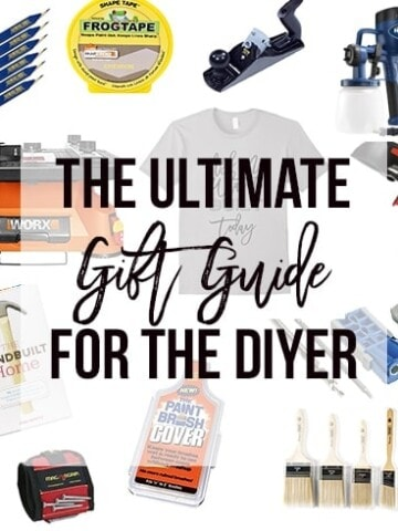 Looking for gift ideas for the DIYer in your life? This is the ultimate list filled with ideas - for every budget and every occasion!